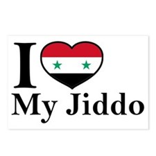 jiddo Postcards (Package of 8)