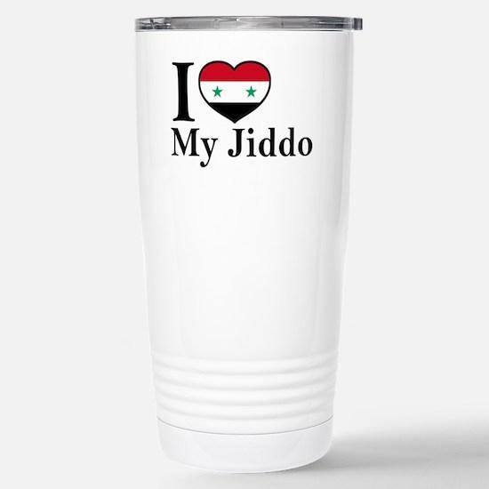 jiddo Stainless Steel Travel Mug