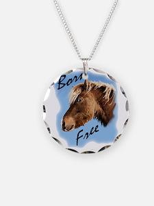 born free pony Necklace