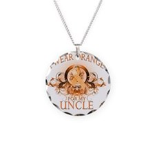 I Wear Orange for my Uncle ( Necklace