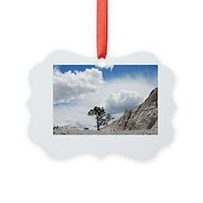 crystal peak tree Ornament