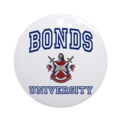 BONDS University Ornament (Round)