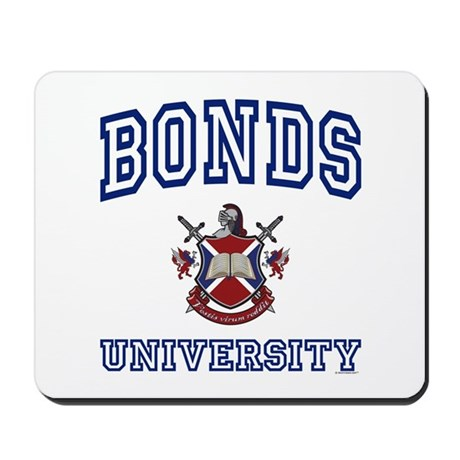 BONDS University Mousepad