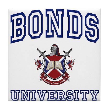 BONDS University Tile Coaster