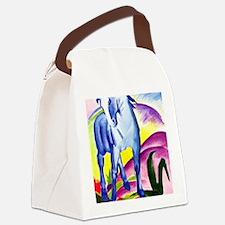 Franz Marc - Blue Horse I Canvas Lunch Bag