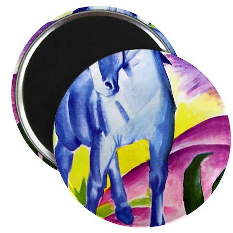 Franz Marc - Blue Horse I Magnet