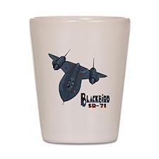 Blackbird-10 Shot Glass
