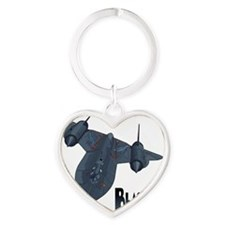 Blackbird-10 Heart Keychain