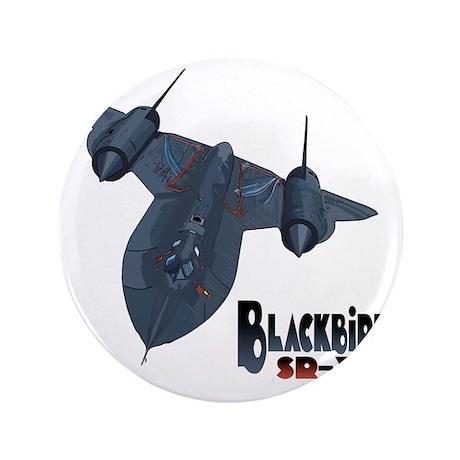 "Blackbird-10 3.5"" Button"