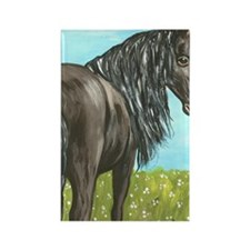 friesianboardcropbright Rectangle Magnet