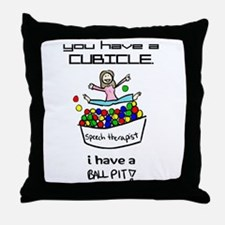 I Have a Ball Pit Throw Pillow