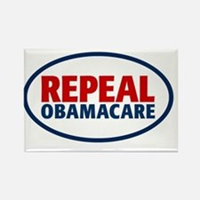 repeal2_5x3oval_sticker Rectangle Magnet
