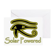 Solar Powered Greeting Card