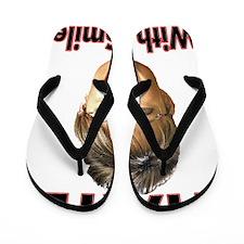 hateshirt Flip Flops