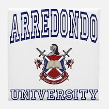 ARREDONDO University Tile Coaster