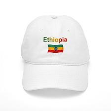 Ethiopia Flag Baseball Cap