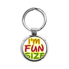 funsize2 Round Keychain