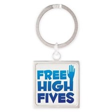 freehighfives Square Keychain