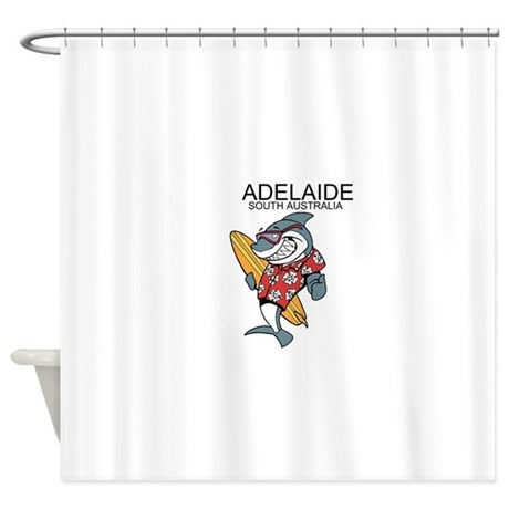 adelaide south australia shower curtain