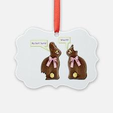 2-Bunnies1 Ornament