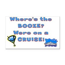 cruise221 Rectangle Car Magnet