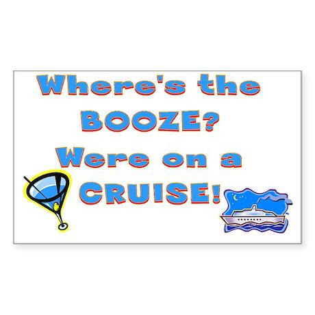 cruise221 Sticker (Rectangle)