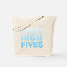 freehighfives2 Tote Bag