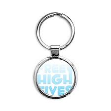 freehighfives2 Round Keychain