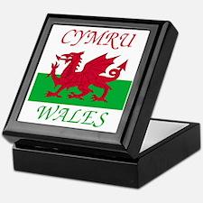Wales-Cymru Keepsake Box
