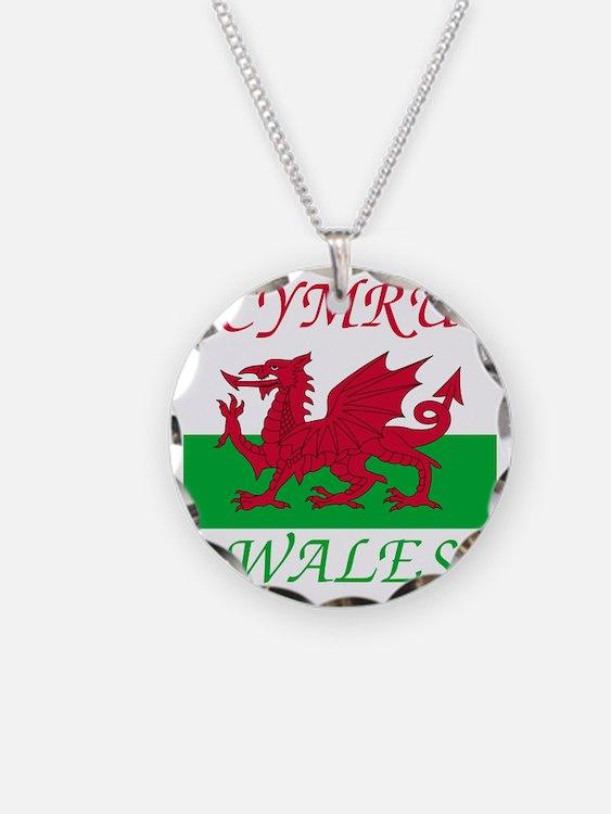Wales-Cymru Necklace