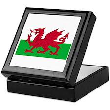 Wales-Cymru-Dark Keepsake Box