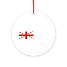 Australian Federation Dark Round Ornament