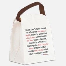 What Could Go Wrong Canvas Lunch Bag