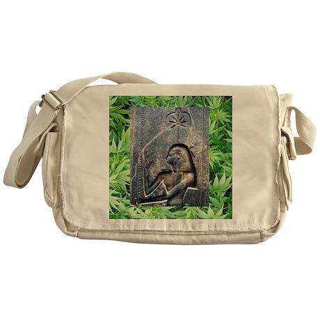 TempleCropSQforTiles Messenger Bag
