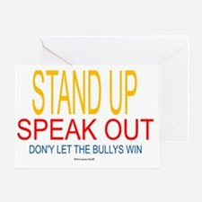 2-dont bully Greeting Card