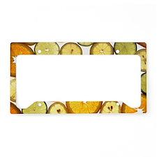 citrus License Plate Holder