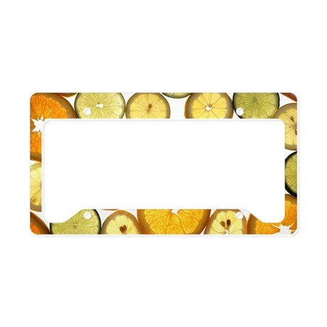 citrus License Plate Holder