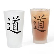 dao_black Drinking Glass