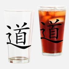 dao_black Drinking Glass