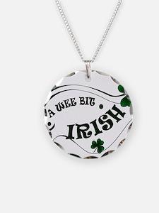 A Wee Bit  Irish Shamrocks Necklace