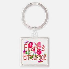 Ellery Square Keychain