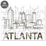 Atlanta georgia Puzzles