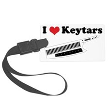 I Heart Keytars Luggage Tag