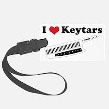 I Heart Keytars Luggage Tag