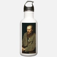 journal-dostoyevsky Water Bottle