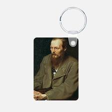 journal-dostoyevsky Keychains
