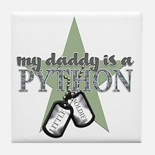 PYTHON BOYS Tile Coaster