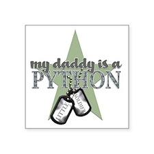 """PYTHON BOYS Square Sticker 3"""" x 3"""""""