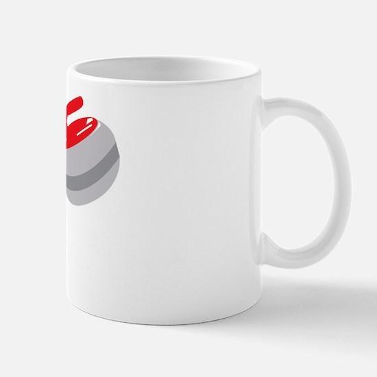 I Heart Curling Mug