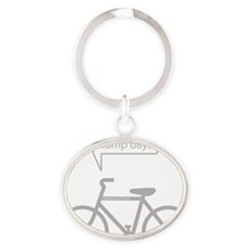 HumpDay Oval Keychain